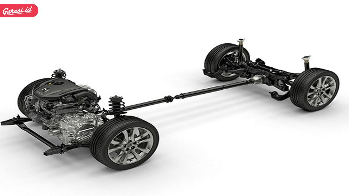 Sistem penggerak roda mobil