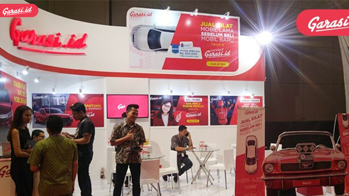 Resmi Dibuka, Garasi.id Siap 'Tebar' Hadiah di IIMS 2018