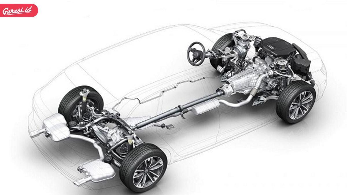 sistem penggerak roda depan