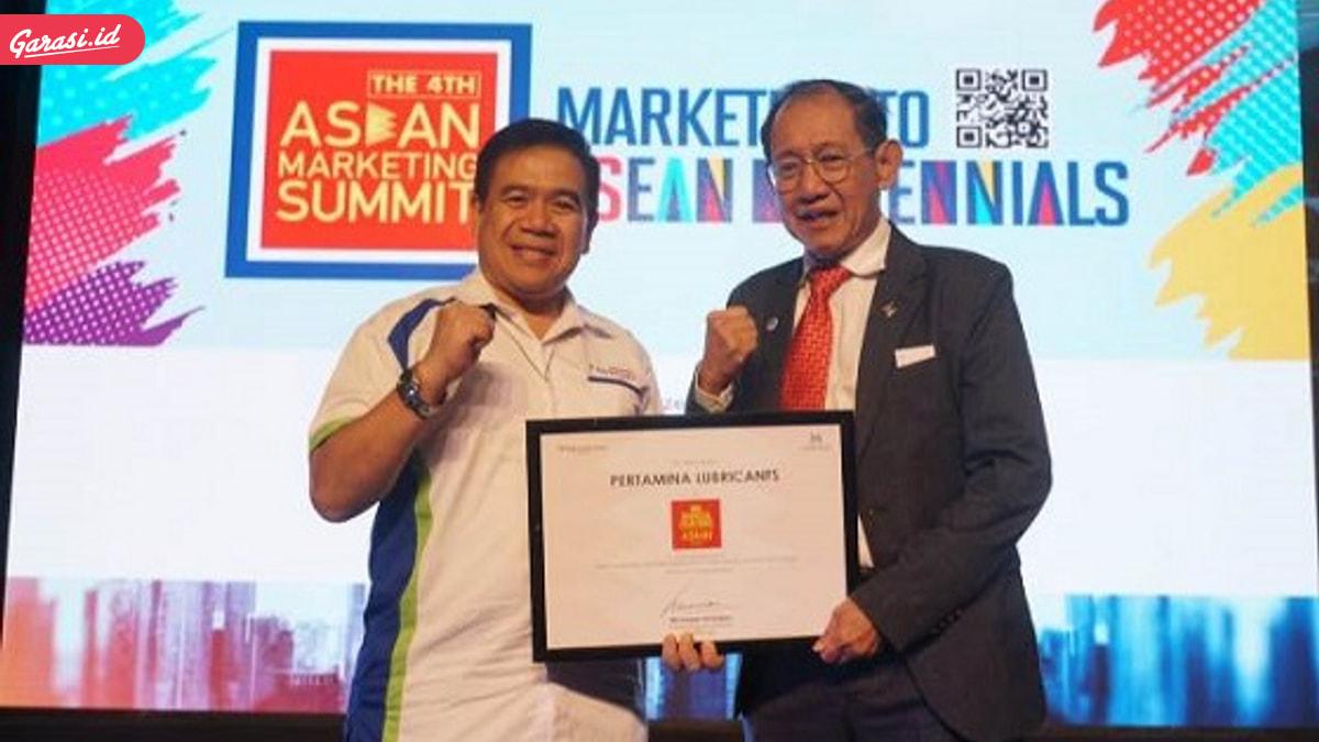 Pertamina Lubricants Torehkan Penghargaan Asean Marketing Summit 2018