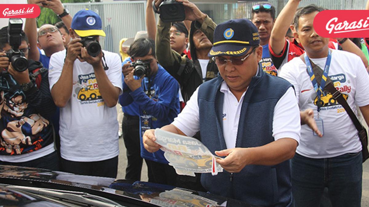 Edukasi Aman Berkendara, Jasa Marga Gelar Fun Rally Tertib Berlalu Lintas 2018
