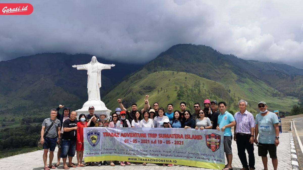 Gelar Event Long Adventure, Komuntas TRABAZ Beradventure Ria di Pulau Sumatera