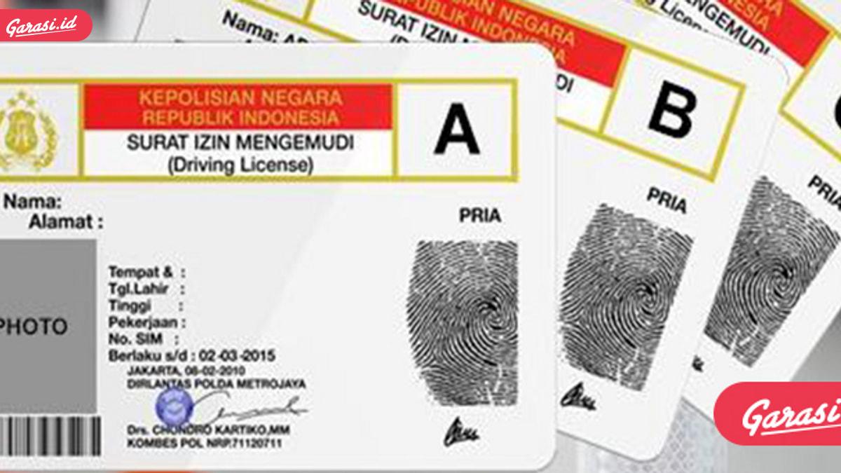 SIM D Itu Ada Lho di Indonesia, Begini Cara Membuatnya