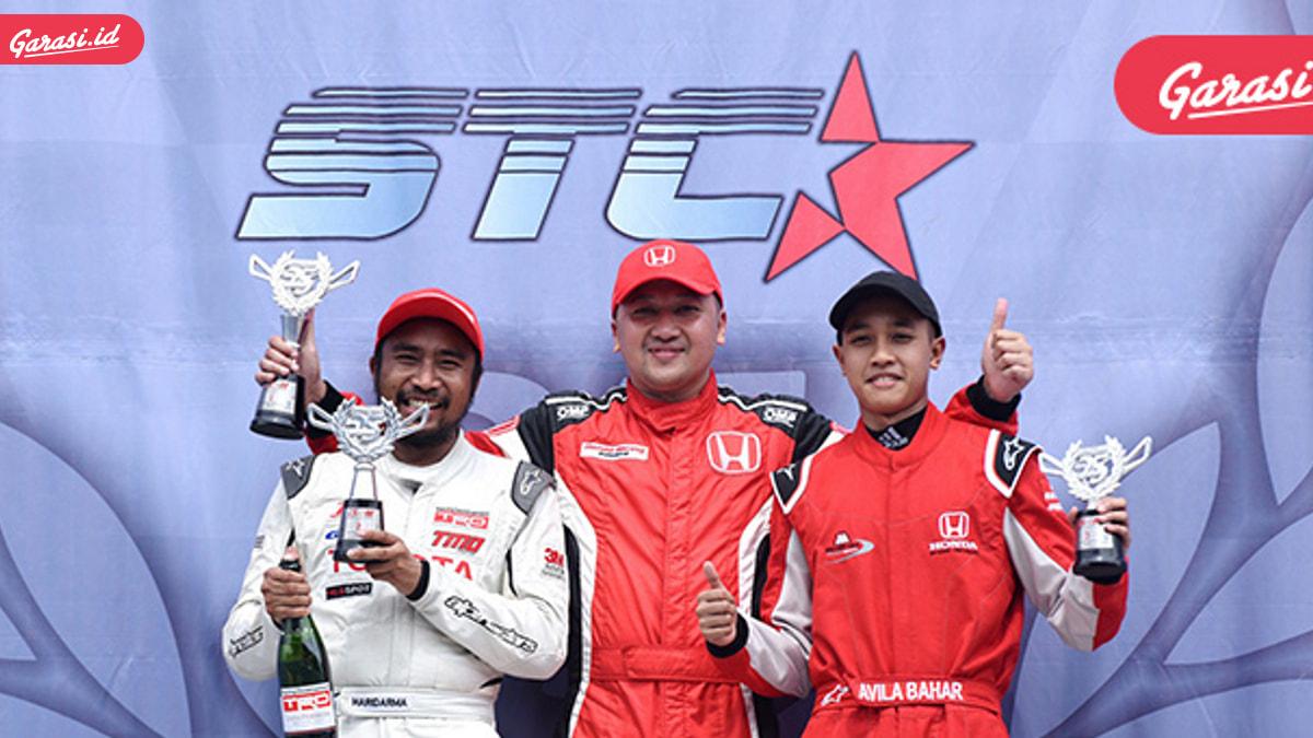 Alvin Bahar Raih Gelar Juara di Seri Keenam ITCC 1600 Max
