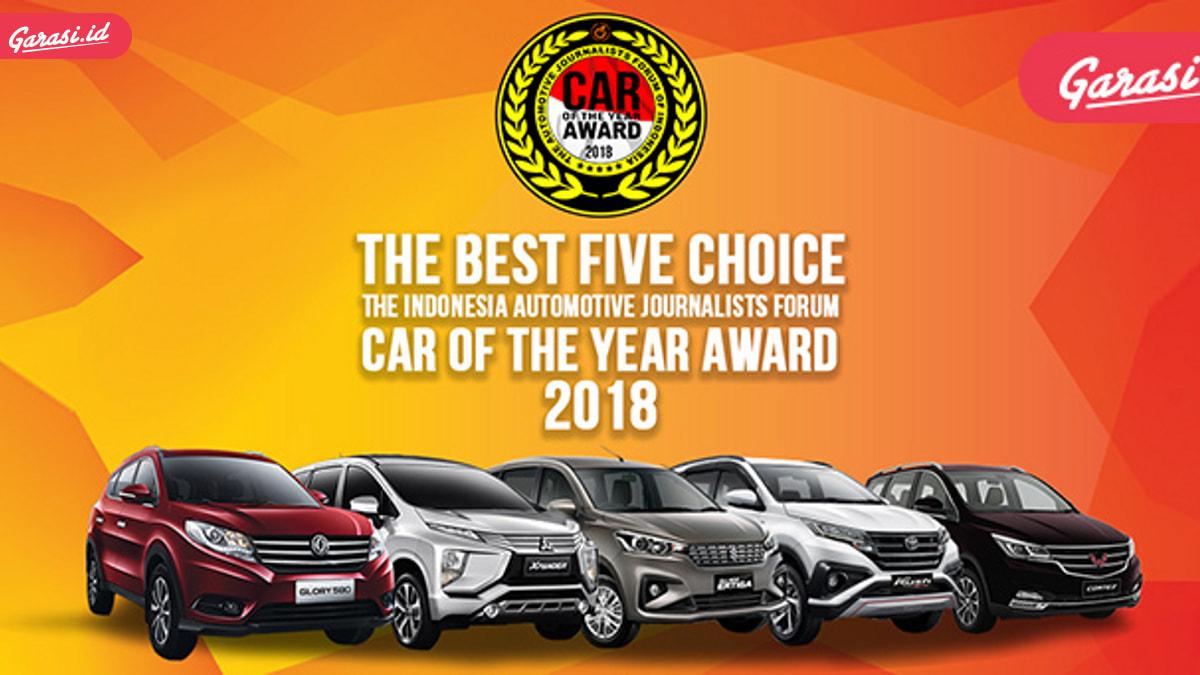 Mitsubishi Xpander Raih Penghargaan Forwot Car of The Year 2018