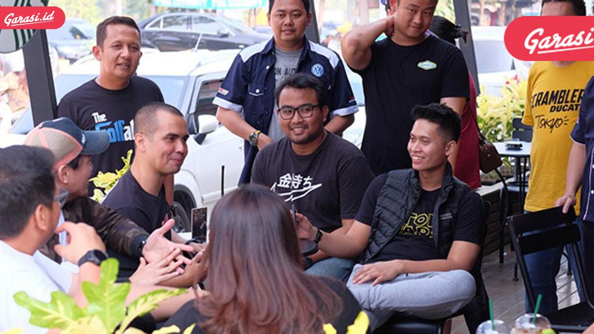 Pererat Silaturahmi Antar Member, Nuvolks Gelar Touring ke Garut