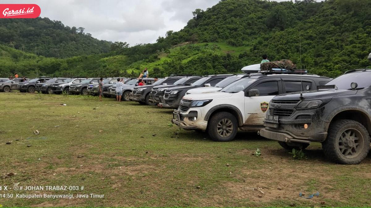Komunitas Chevrolet Trailblazer Colorado Indonesia (TRABAZ) Bantu Pulihkan Sektor Pariwisata Indonesia.