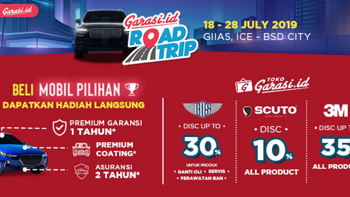 Special Promo GIIAS 2019, Garasi.id Kasih Garansi 1 tahun Setiap Pembelian Mobil Pilihan
