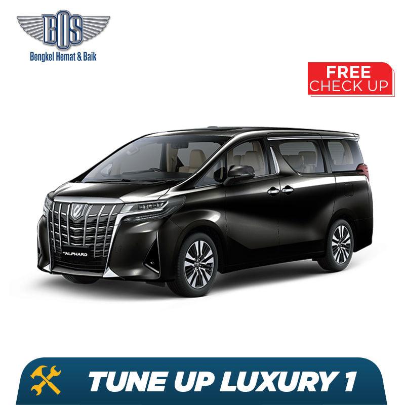 Service Tune Up Luxury + Free Check-Up 58 Komponen Kendaraan