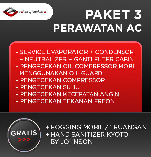 Paket Perawatan AC 3