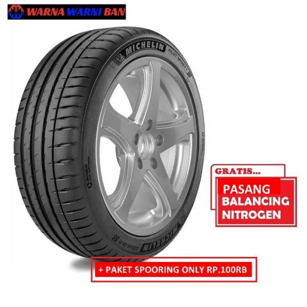Michelin Pilot Sport 4 215/45 R17 SP Ban Mobil [Ambil Di Tempat & Gratis Pemasangan]
