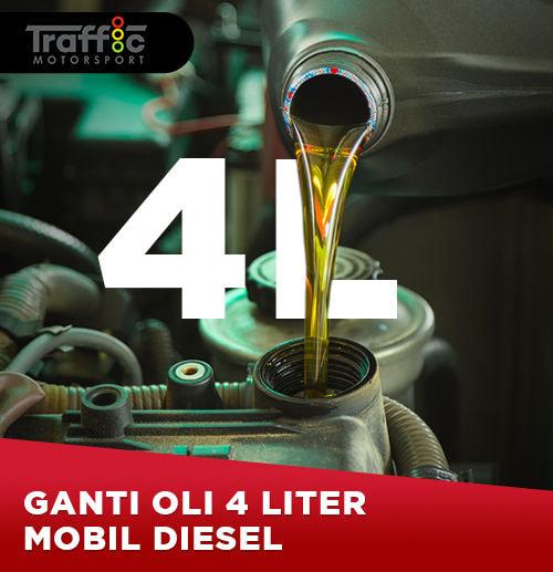 Paket Ganti Oli Mobil Diesel 4 Liter (Area Surabaya)