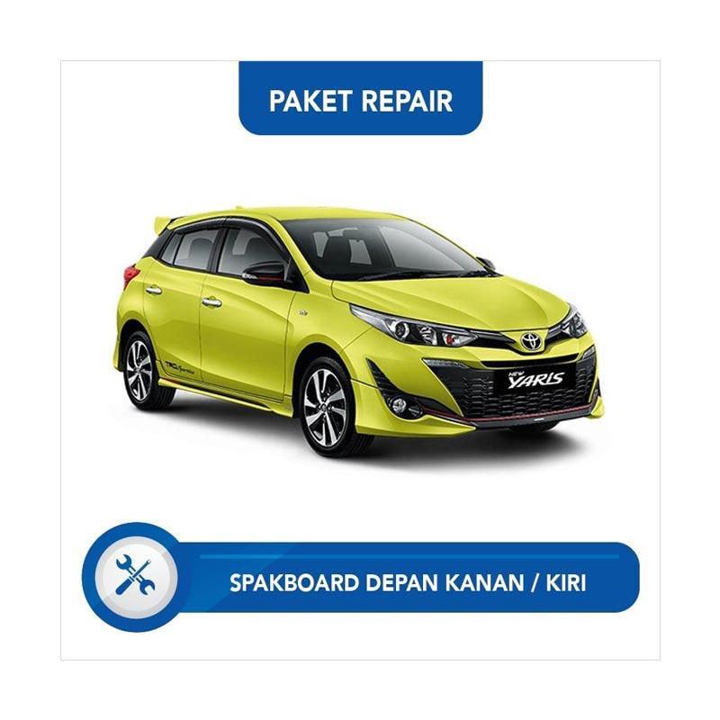 Subur OTO Paket Jasa Reparasi Ringan & Cat Spakbor Depan Kanan atau Kiri Mobil for Toyota Yaris