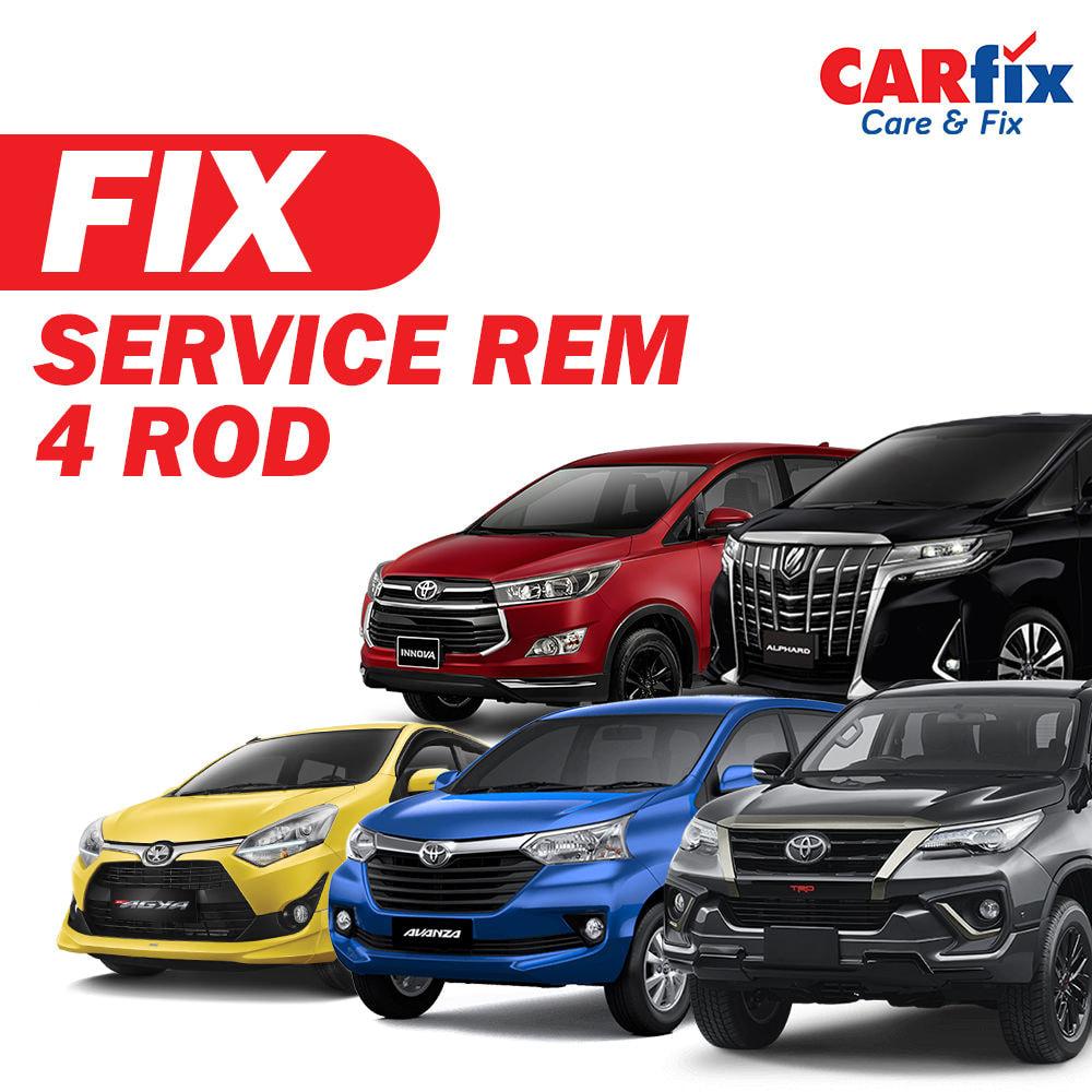 Service Rem 4 Roda FIX