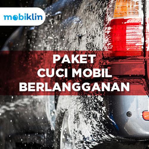Berlangganan Cuci Mobil 1 bulan - Car Wash