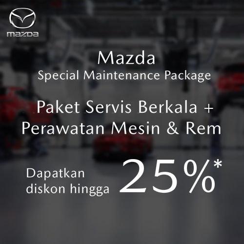 Special Service Package Mazda (Khusus VIN Code Tertentu Disc Up to 25%)