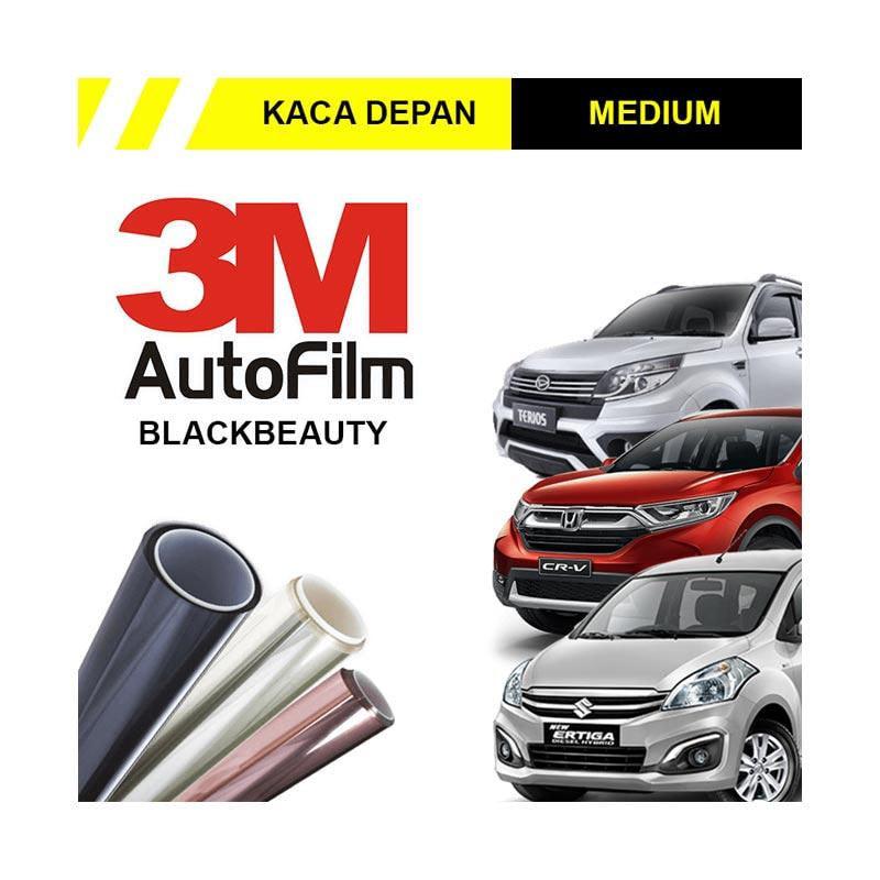 3M Original Black Beauty Kaca Film Depan for Medium Car