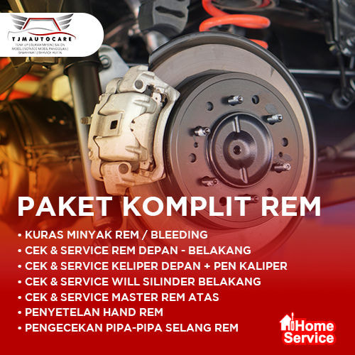 Home Service - Paket Komplit Rem