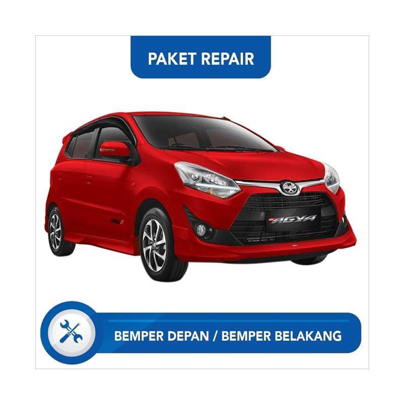 Subur OTO Paket Jasa Reparasi Ringan & Cat Bumper Depan-Belakang Mobil for LCGC Agya