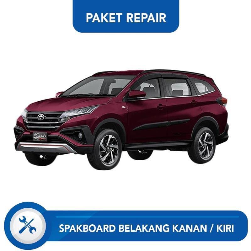 Subur OTO Paket Jasa Reparasi Ringan & Cat Spakbor Belakang Kanan atau Kiri Mobil for Toyota Rush