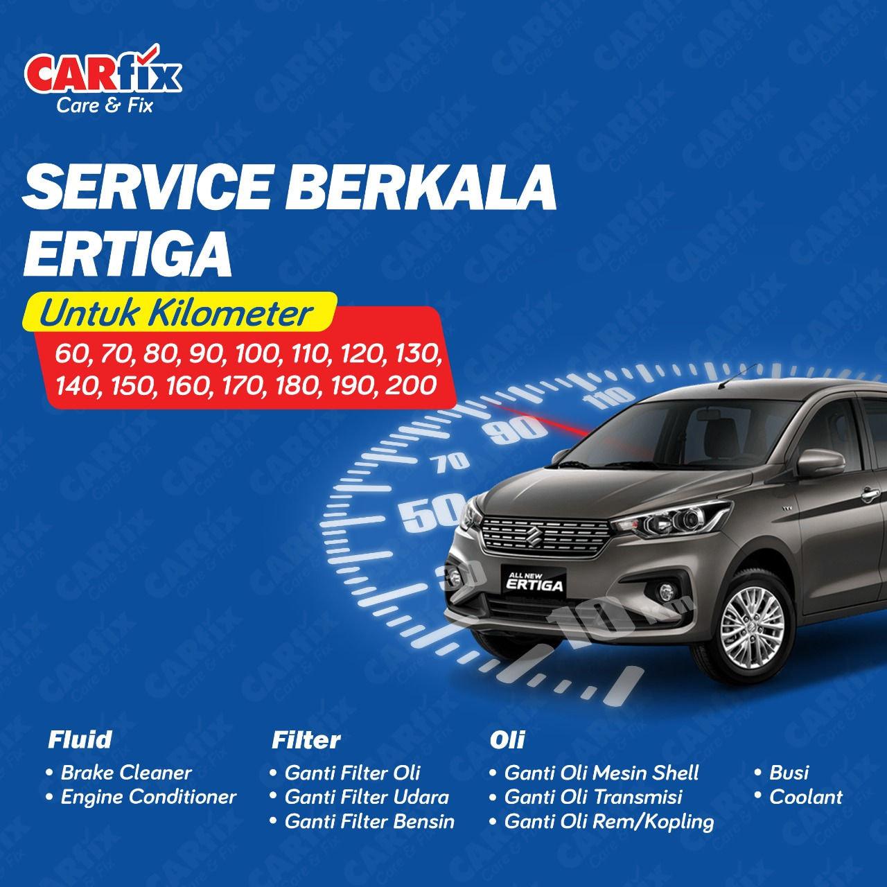 Paket Service Berkala Ertiga 1.5 Manual - Jateng+DIY