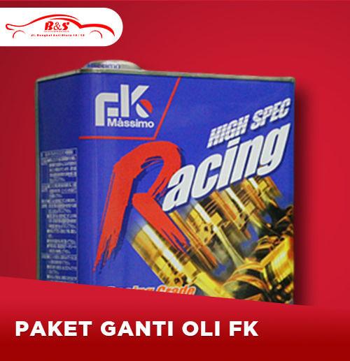 Paket Ganti Oli Mobil FK (Area Surabaya)