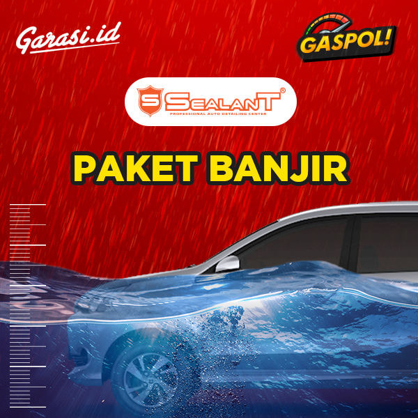 Salon Mobil BANJIR Batas Spion - Klp Gading