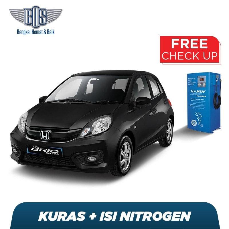 Kuras dan Isi Nitrogen + Free Check-Up 58 Komponen Kendaraan