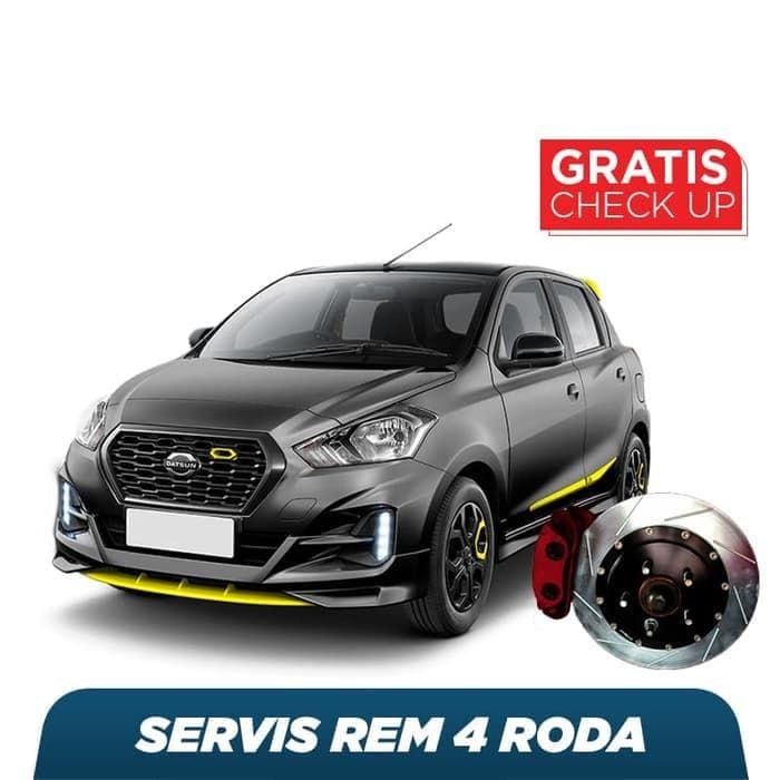 Servis Rem 4 Roda Eco Free Check-up 58 Komponen Kendaraan
