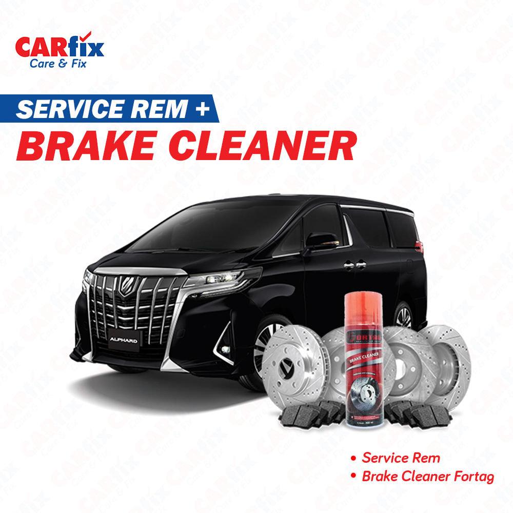 Service Rem FIX + Brake Cleaner - Jateng+DIY