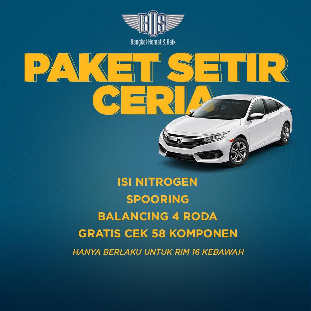Paket Steering (Setir Ceria)