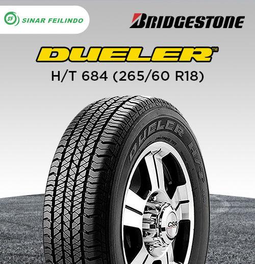 Bridgestone Dueler H/T 684 265/60 R18
