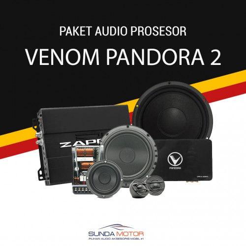 Paket Audio 3 Ways Processor Venom Pandora 2