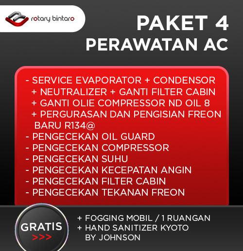 Paket Perawatan AC 4