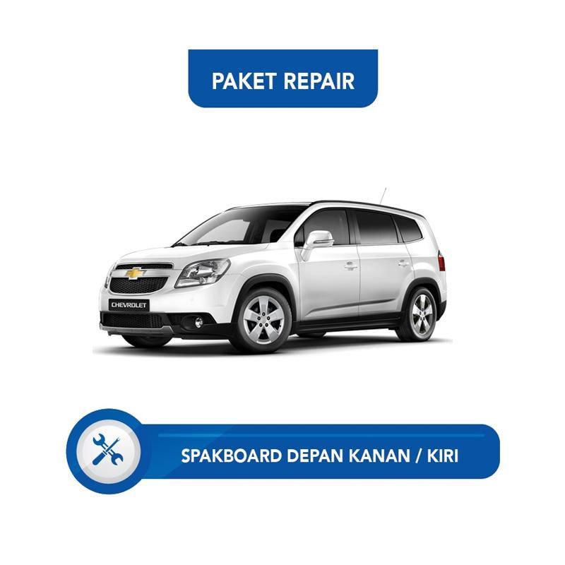 Subur OTO Paket Jasa Reparasi Ringan & Cat Spakbor Depan Kanan atau Kiri Mobil for Chevrolet Orlando