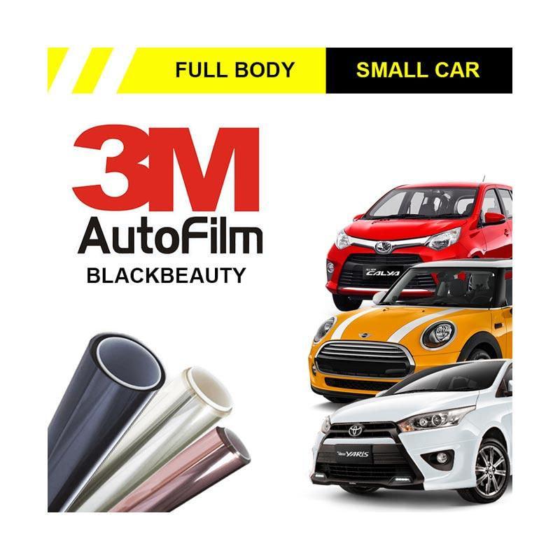 3M Original Black Beauty Full Body Kaca Film for Small Car