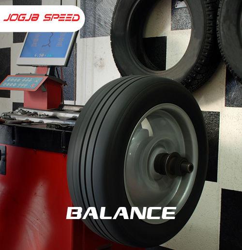 Balancing Jogja Speed