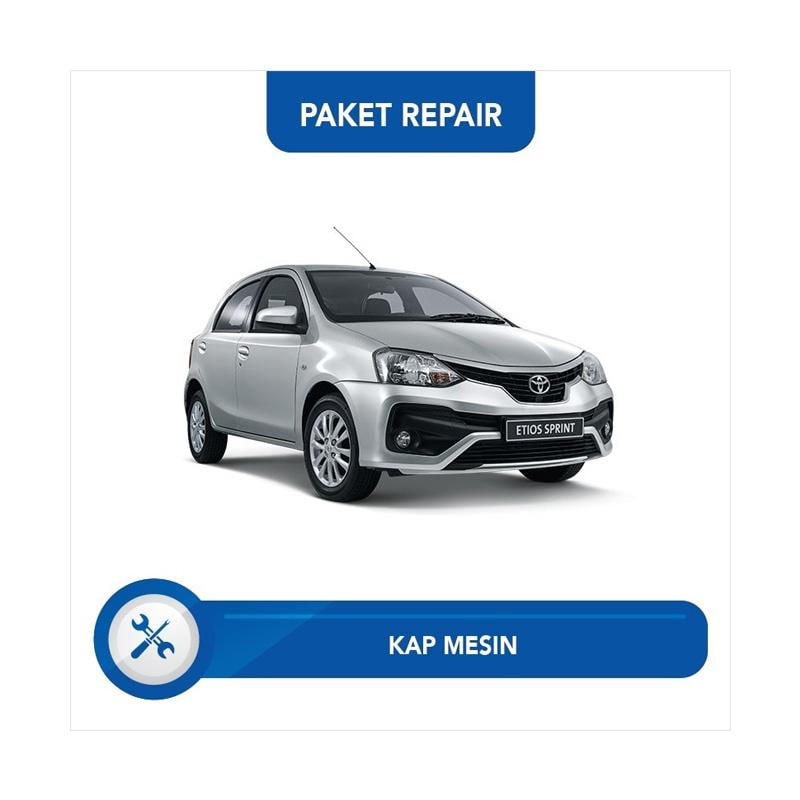Subur OTO Paket Jasa Reparasi Ringan & Cat Mobil for Toyota Etios [Kap Mesin]