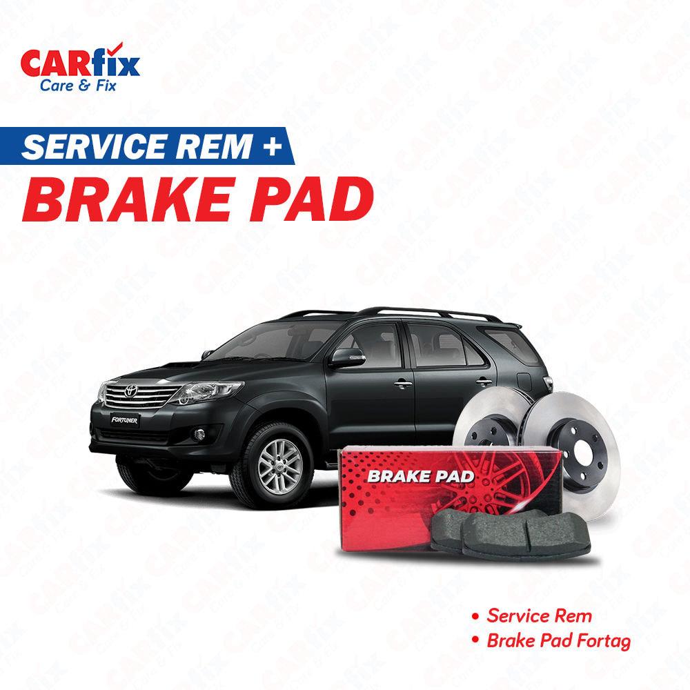 Service Rem + Brake Pad - Jateng+DIY