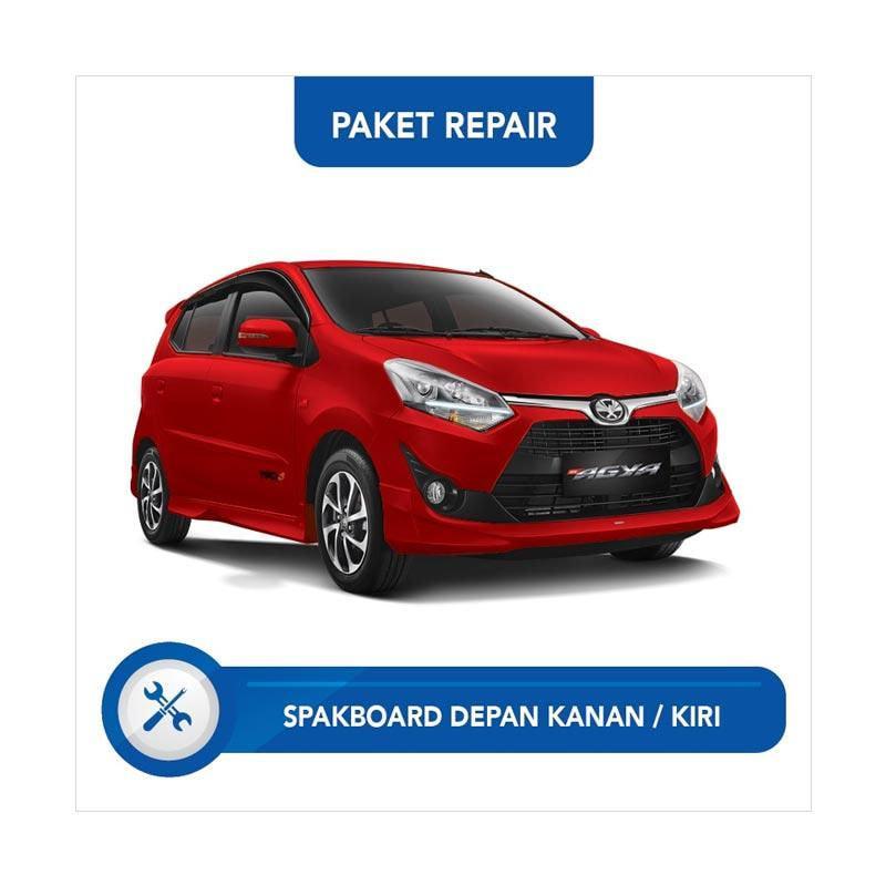 Subur OTO Paket Jasa Reparasi Ringan & Cat Spakbor Depan Kanan atau Kiri Mobil for Daihatsu Agya