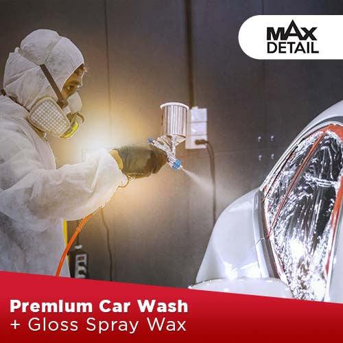 Premium Car Wash + Gloss Spray Wax