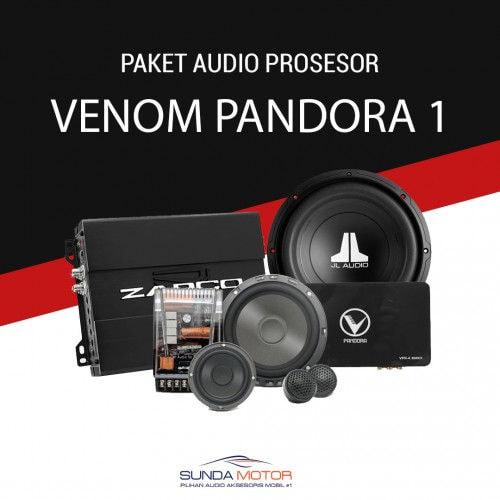 Paket Audio 3 Ways Processor Venom Pandora 1