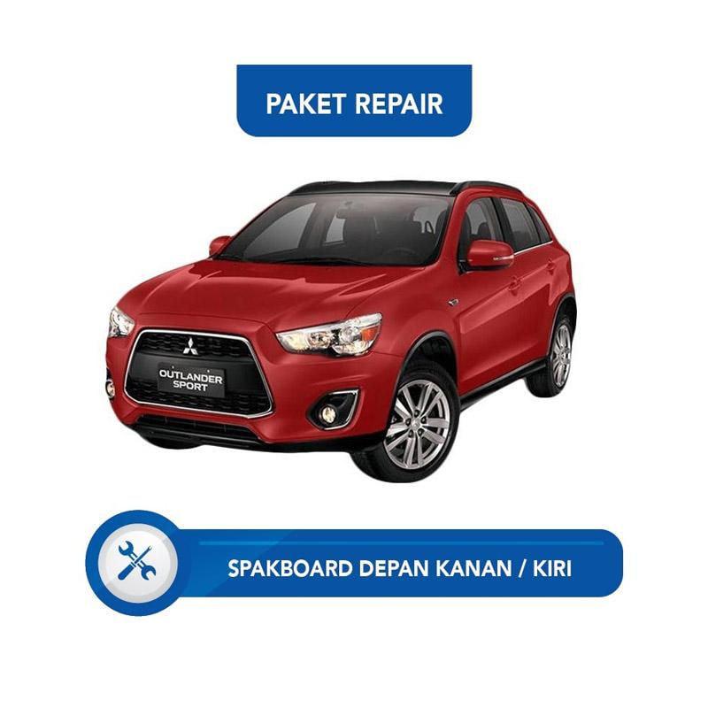 Subur OTO Paket Jasa Reparasi Ringan & Cat Mobil for Mitsubishi Outlander [Spakbor Depan Kanan atau Kiri]