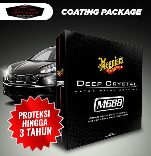 Meguiar's M688 Coating Package