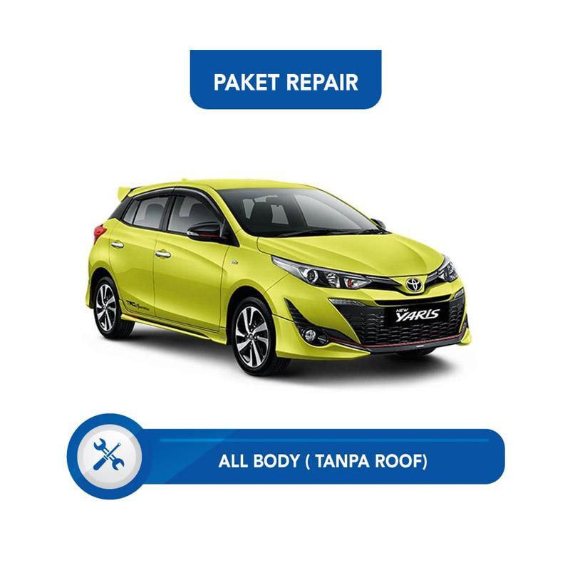 Subur OTO Paket Jasa Reparasi & Cat Mobi for Toyota Yaris [All Body Tanpa Roof]