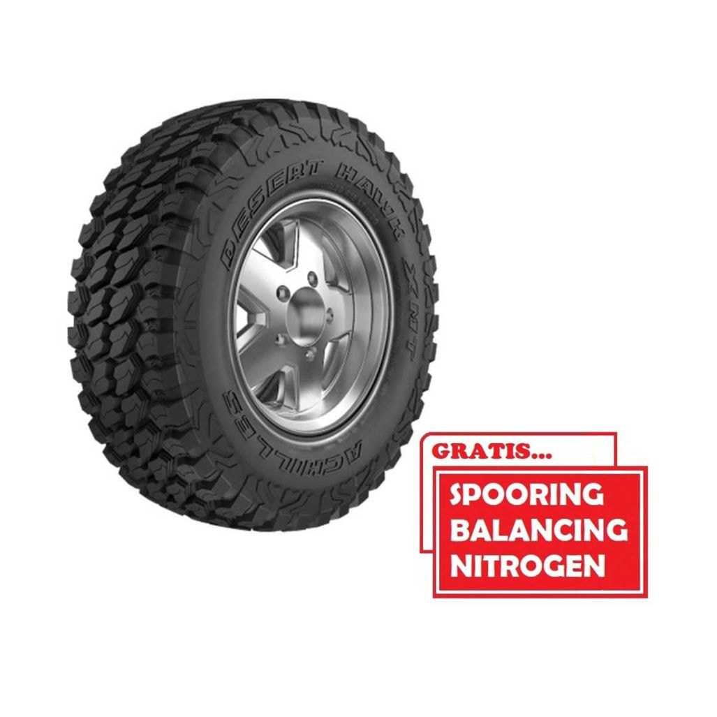 Achilles Desert Hawk X-MT LT285-50 R20 119-116Q 10PR SP Ban Mobil [Gratis Pasang,Spooring Balance & Nitrogen]