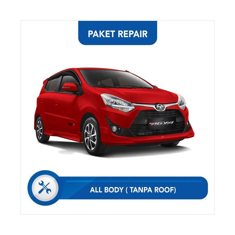 Subur OTO Paket Jasa Reparasi & Cat Mobil for Toyota Agya [All Body Tanpa Roof]
