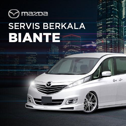 Servis Berkala Mazda Biante Skyactiv