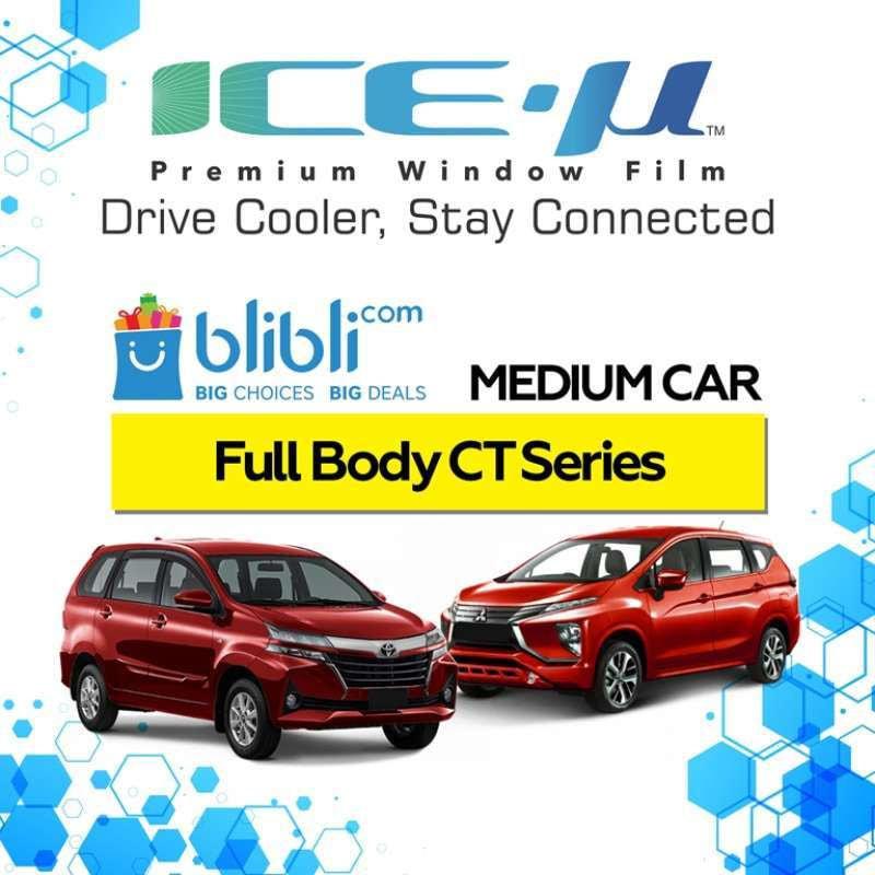 ICE-U Kaca Fim Mobil Full Body CT Series For Medium Car