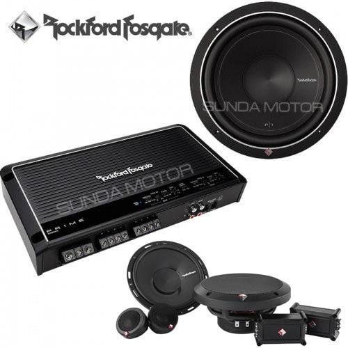 Paket Audio 2 Ways Rockford Fosgate